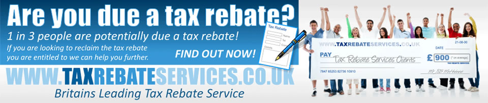 Brought to you by Tax Rebate Services